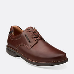 Uncorner Plain Brown Leather