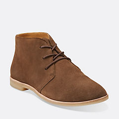 Phenia Desert Walnut Suede