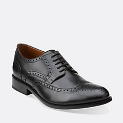 Calhoun Walk Black Leather
