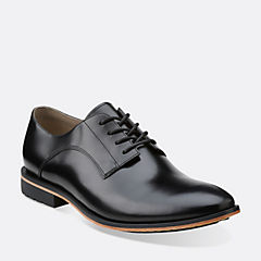 Gatley Walk Black Leather