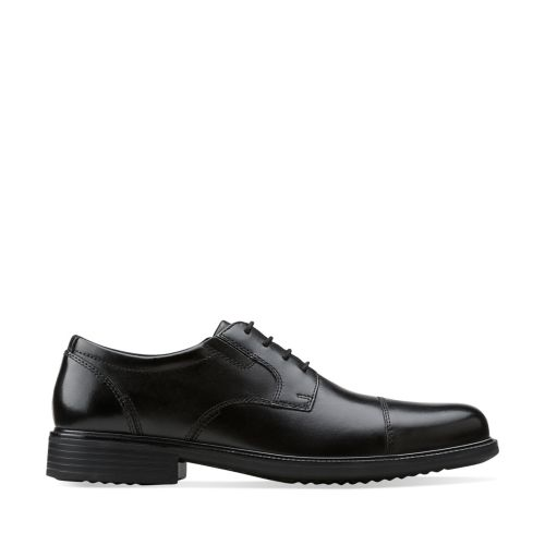 Bardwell Limit Black Leather mens-wide-width