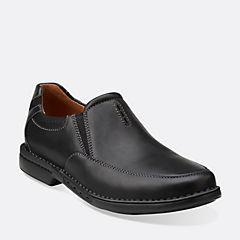 Uncorner Twin Black Leather