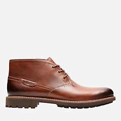Montacute Duke Dark Tan Leather mens-dress-boots