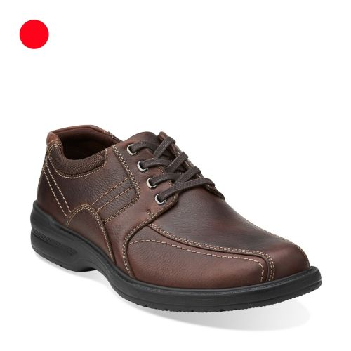 Sherwin Limit Brown Tumbled Leather mens-wide-width