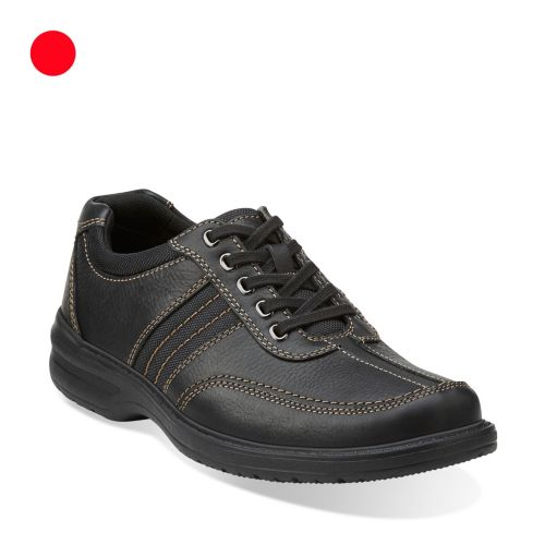 Sherwin Way Black Tumbled Leather sale-mens-casual-shoes