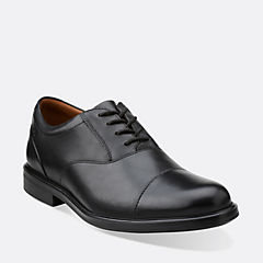 Gabson Cap Black Leather mens-dress-shoes