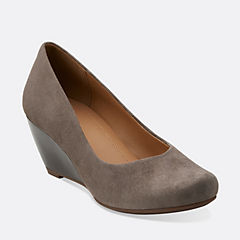 Bassett Mine Grey Suede womens-view-all