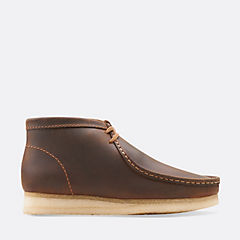 Wallabee Boot Beeswax Leather mens-medium-width