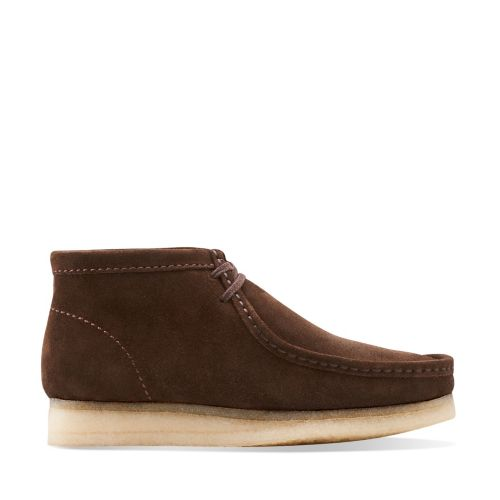 Wallabee Boot Brown Suede originals-mens-boots
