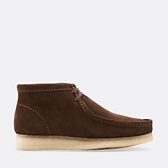 Wallabee Boot Dark Brown Suede