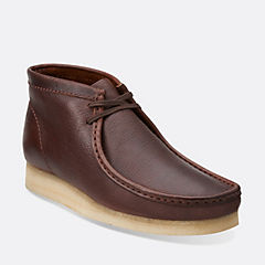 Wallabee Boot Brown Leather