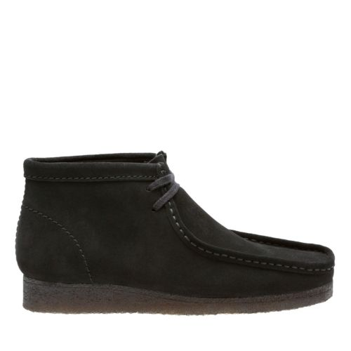 Wallabee Boot Black Suede originals-mens-boots