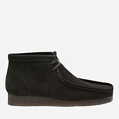 Wallabee Boot Black Sde