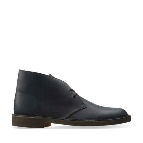 Desert Boot Black Beeswax Leather originals-mens-boots