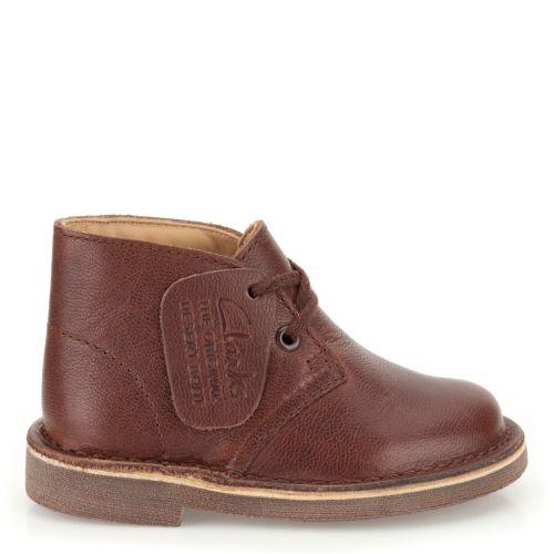 boys desert boot chestnut clarks originals for