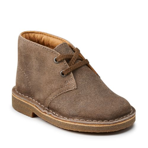 Boys Desert Boot First Taupe Distressed originals-boys-boots