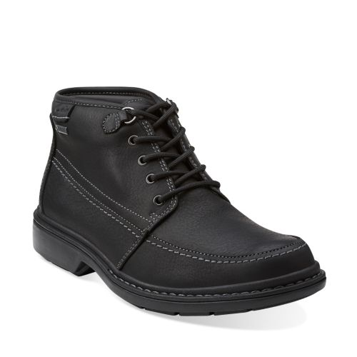 Rockie Top GTX Black Leather mens-gore-tex-boots