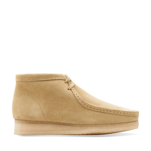 Wallabee Boot Maple Suede mens-medium-width