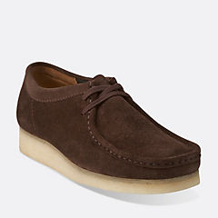 Wallabee Dark Brown Suede