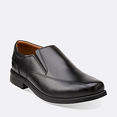 Beeston Step Black Leather
