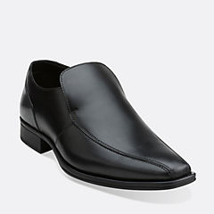 Flenk Step Black Leather