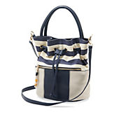 Catalena Edie Navy/White