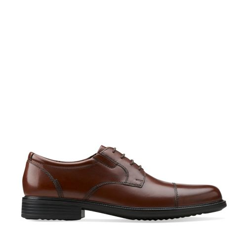 Bardwell Limit Brown Leather mens-wide-width