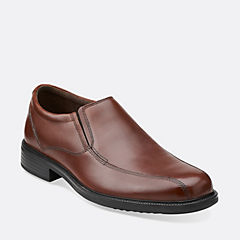 Bardwell Step Brown Leather