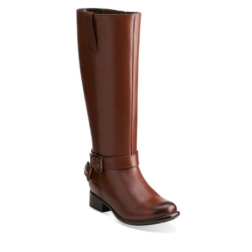 Plaza Steer Brown Leather sale-womens