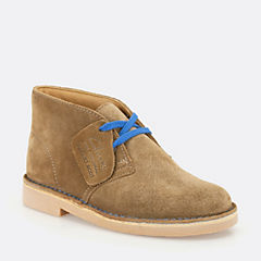 Boys Desert Boot Toddler Tan Suede boys-toddler