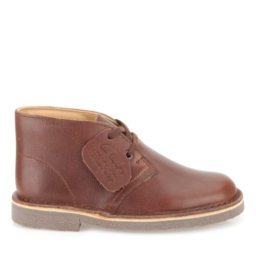 Boys Desert Boot Toddler Chestnut kids-school-shoes