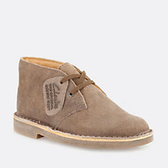 Boys Desert Boot Youth Taupe Distressed boys-junior