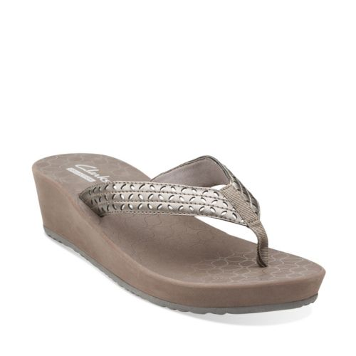 Liya Gander Pewter Synthetic womens-collection
