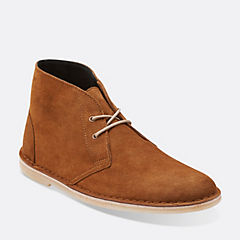 Mens Jink Desert Cola Suede originals-mens-boots