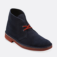 Desert Boot Navy/Red