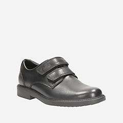 Deon Style Youth Black Leather boys-junior