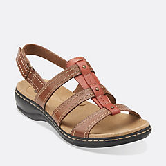 Leisa Daisy Tan Leather