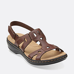 Leisa Annual Brown Leather womens-view-all