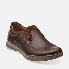 Fenway Step Brown Leather