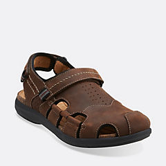 Un.Bryman Bay Brown Leather mens-wide-width