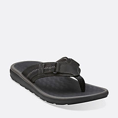 Kernick Beach Black Nubuck