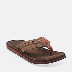 Riverway Sun Brown Synthetic mens-wide-width