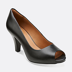 Florine Portia Black Leather