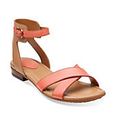 Viveca Zeal Coral Leather