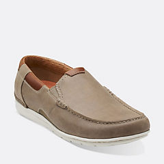 Un.Graysen Free Taupe Nubuck mens-unstructured