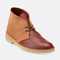 Desert Boot Tan Combi