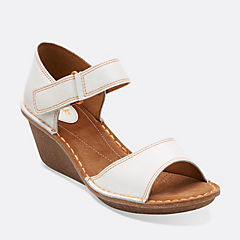 Orient Sea White Leather womens-sandals