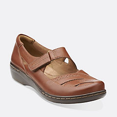 Evianna Date Tan Leather