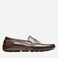 Ashmont Race Brown Smooth Leather mens-loafer-slip-on
