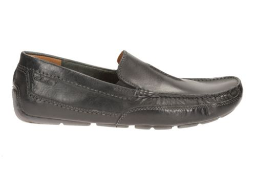 Ashmont Race Black Smooth Leather mens-casual-shoes